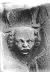 Cathédrale Notre-Dame - Tête d'amortissement, chauve