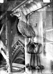 Cathédrale Notre-Dame - Couronnement de pinâcle, coq chantant