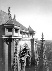 Cathédrale Notre-Dame - Partie supérieure de la tour sud-ouest