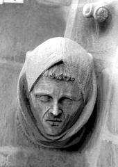 Cathédrale Notre-Dame - Tête d'amortissement, bras sud du transept