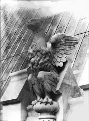 Cathédrale Notre-Dame - Couronnement, galerie de l'abside, oiseau