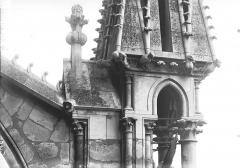Cathédrale Notre-Dame - Base d'un pinâcle de l'abside, ou Jugement