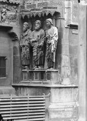 Cathédrale Notre-Dame - Portail nord, ébrasement droit