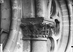 Cathédrale Notre-Dame - Chapiteau, oculus du transept