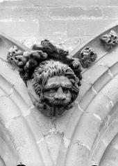 Cathédrale Notre-Dame - Sommier d'arc, bras nord du transept, le Lion de saint Marc