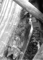 Cathédrale Notre-Dame - Portail ouest, groupe, David et Bethsabée