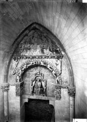 Cathédrale Notre-Dame - Façade nord, porte du cloître