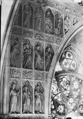 Cathédrale Notre-Dame - Façade ouest, revers, partie supérieure à gauche, Massacre des Innocents