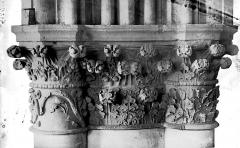 Cathédrale Notre-Dame - Chapiteau du bras sud du transept
