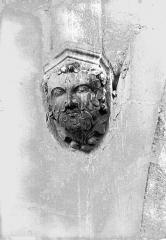 Cathédrale Notre-Dame - Tête d'amortissement, tour sud