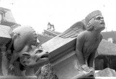 Cathédrale Notre-Dame - Modèle pour la restauration d'un pinâcle du bras nord du transept