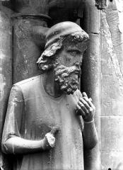Cathédrale Notre-Dame - Buste d'Adam