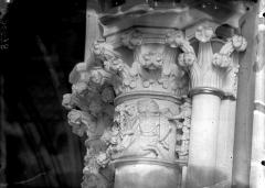 Cathédrale Notre-Dame - Chapelle Saint-Joseph, chapiteau