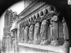 Cathédrale Notre-Dame - Galerie des Prophètes, pignon sud