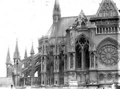Cathédrale Notre-Dame - Abside, côté nord, en largeur
