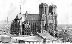 Cathédrale Notre-Dame - Ensemble nord-ouest, pris de l'église Saint-Jacques