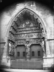 Cathédrale Notre-Dame - Portail nord, ensemble