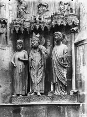 Cathédrale Notre-Dame - Portail nord, portail de saint Sixte, ébrasement droit