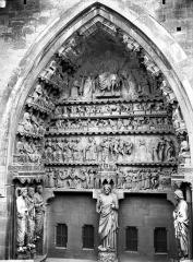 Cathédrale Notre-Dame - Portail nord, portail de la Résurrection, ensemble
