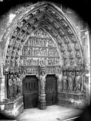 Cathédrale Notre-Dame - Portail nord, portail de saint Sixte, ensemble