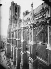 Cathédrale Notre-Dame - Arcs-boutants de la nef, au sud