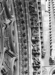 Cathédrale Notre-Dame - Rose sud, partie inférieure, à droite