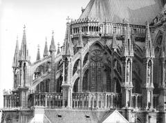 Cathédrale Notre-Dame - Abside, au nord, partie haute