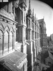 Cathédrale Notre-Dame - Arcs-boutants, au sud