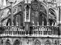 Cathédrale Notre-Dame - Galerie de l'abside