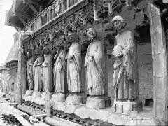 Cathédrale Notre-Dame - Bras sud du transept, Galerie des Prophètes