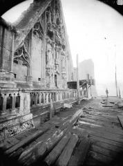 Cathédrale Notre-Dame - Pignon du bras nord du transept
