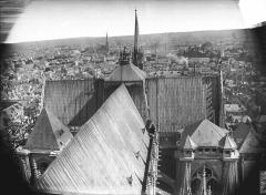 Cathédrale Notre-Dame - Toiture de la nef et du transept