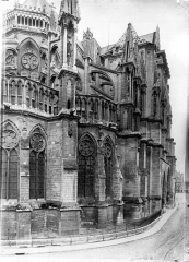 Cathédrale Notre-Dame - Abside au nord