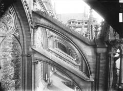 Cathédrale Notre-Dame - Arcs-boutants de la nef