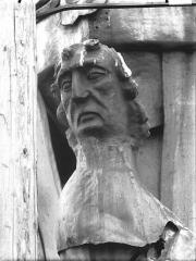 Cathédrale Notre-Dame - Buste d'une cariatide