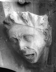 Cathédrale Notre-Dame - Tête d'amortissement