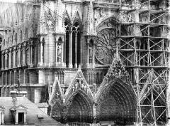 Cathédrale Notre-Dame - Façade ouest, partie médiane