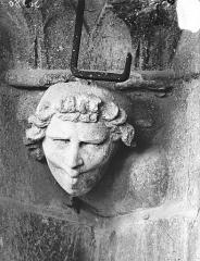 Cathédrale Notre-Dame - Tête d'amortissement, le Siffleur