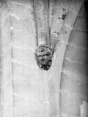 Cathédrale Notre-Dame - Tête d'amortissement, intérieur de la tour sud