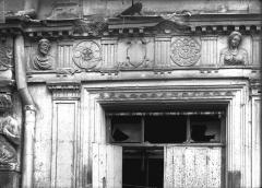 Maison natale de Jean-Baptiste de la Salle - Linteau