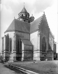 Eglise Sainte-Marie ou Notre-Dame£ - Côté nord-est