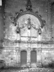 Eglise Sainte-Marie ou Notre-Dame - Portail ouest