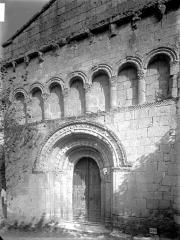 Eglise Saint-Pierre-ès-Liens - Façade ouest