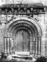Eglise Saint-Etienne£ - Portail nord