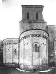 Eglise Saint-Sulpice - Abside et clocher, au nord