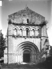 Eglise Saint-Sulpice - Façade ouest