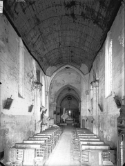 Eglise Saint-Sulpice - Nef, vue de l'entrée