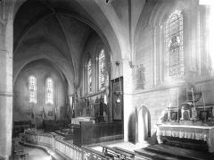 Eglise Saint-Martin - Choeur, vue diagonale