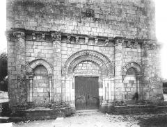 Eglise Saint-Trojan - Façade ouest