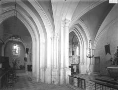 Eglise Notre-Dame de l'Assomption - Choeur et chapelle sud, vue diagonale